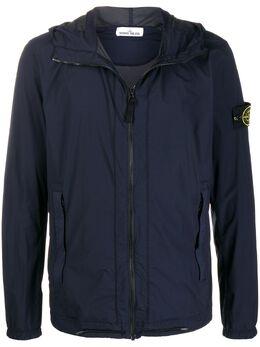 Stone Island куртка на молнии с капюшоном MO721543831