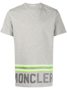 Moncler футболка с логотипом F10918C739208390T