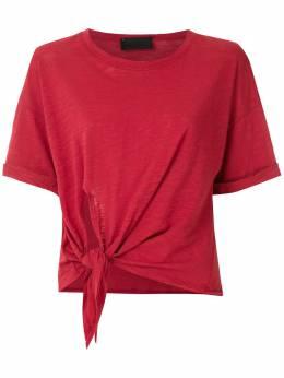 Andrea Bogosian футболка Richard с завязками 008341