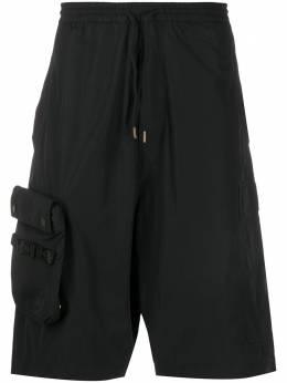 Maharishi шорты-бермуды с накладным карманом 8582P