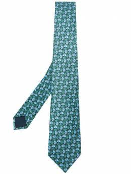 Lanvin галстук с принтом CRAVATESCM72849