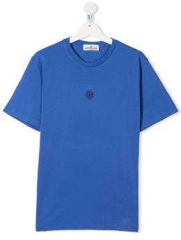 Stone Island Junior футболка с логотипом MO721621054