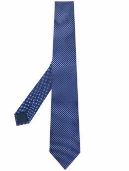 Lanvin галстук с узором CRAVATESCM72506