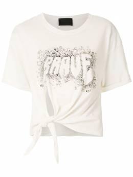 Andrea Bogosian декорированная футболка Brave с пайетками 008529