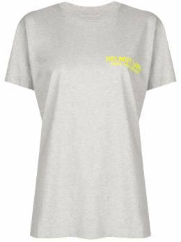 Helmut Lang футболка с логотипом K01DM518