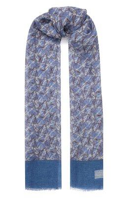 Льняной шарф Corneliani 85B343-0129046/00