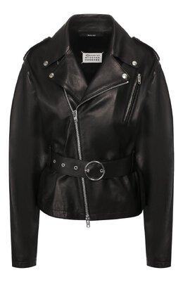 Кожаная куртка Maison Margiela S51AM0380/SY1450
