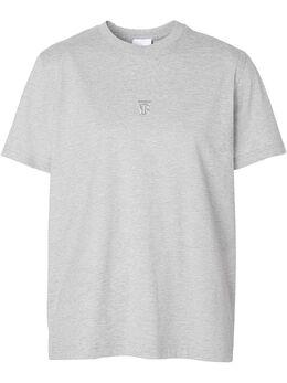 Burberry футболка с вышивкой TB 8029141