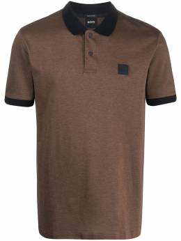 Boss by Hugo Boss рубашка-поло Parlay с нашивкой-логотипом PARLAY7050423189