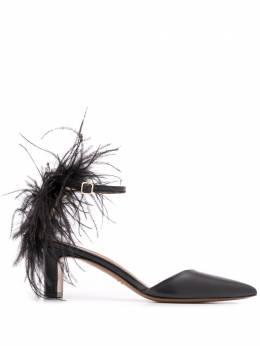 Atp Atelier туфли Monaci с ремешком на щиколотке 110686