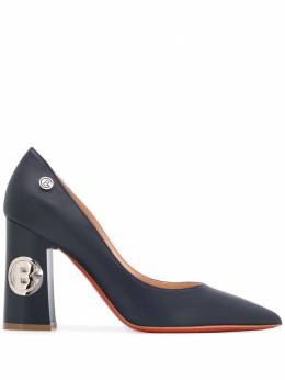 Baldinini туфли-лодочки с логотипом 055401