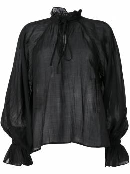 Karen Walker блузка Basalt 10159