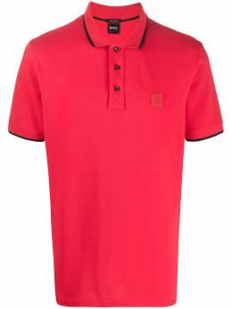 Boss by Hugo Boss рубашка-поло с нашивкой-логотипом PARLAY7350424202