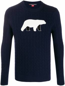 Perfect Moment POLAR BEAR CREWNECK SWEATER W19M0291701