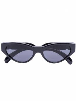 Versace Eyewear солнцезащитные очки в оправе 'кошачий глаз' с затемненными линзами 0VE4373