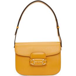 Gucci Yellow Gucci 1955 Horsebit Shoulder Bag 602204 1DB0G