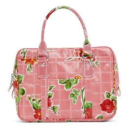 Comme Des Garcons Girl Pink Printed Top Handle Bag NE-K201-051