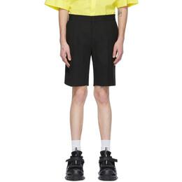 Juun.J Black Wool Shorts JC0325P025