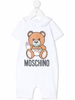 Moschino Kids комбинезон с принтом Teddy Bear MUT01HLBA00
