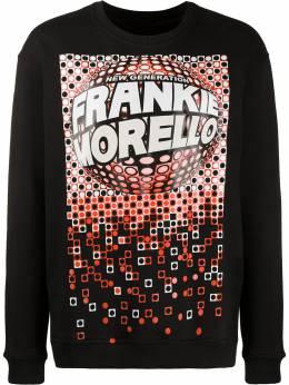 Frankie Morello толстовка с круглым вырезом и графичным принтом FMS0746FEUNI