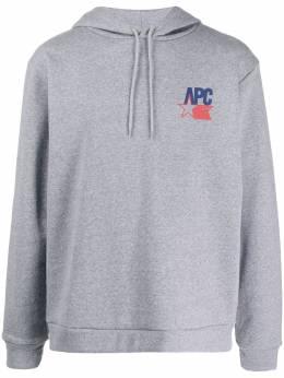 A.P.C. худи с логотипом H27584COEDVPLA