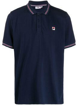Fila рубашка-поло с нашивкой-логотипом 687656