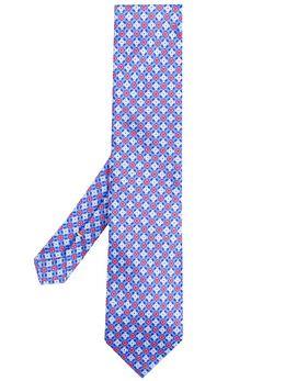 Canali галстук с микропринтом 70HS02728