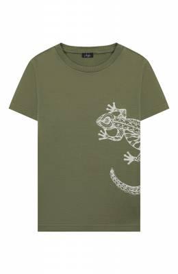 Хлопковая футболка Il Gufo P20TS221M7011/5A-8A