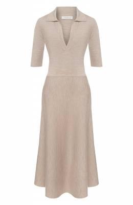 Платье из смеси шерсти и кашемира Gabriela Hearst 320914 A004