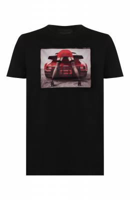 Хлопковая футболка Limitato TURB0/T-SHIRT