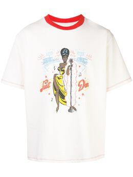 Just Don футболка с графичным принтом TSSTWHT