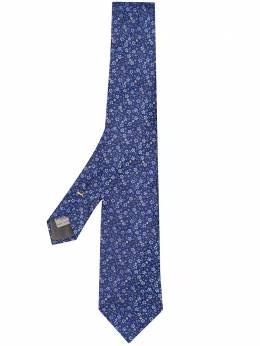 Canali галстук с микропринтом 18HJ02575