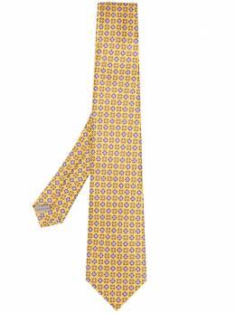 Canali галстук с микропринтом 18HS02727
