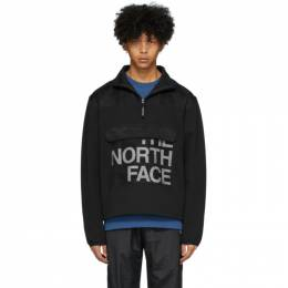 The North Face Black Graphic Collection Zip Pullover NF0A48U8
