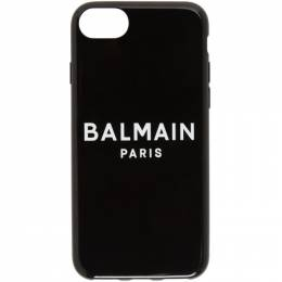 Balmain Black Logo iPhone 8 Case TN1M003PSIC