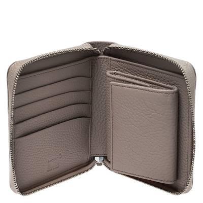 Montblanc Beige Leather Zip Around Wallet 276769 - 1