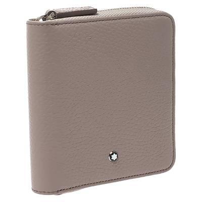 Montblanc Beige Leather Zip Around Wallet 276769 - 4