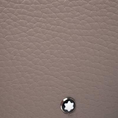 Montblanc Beige Leather Zip Around Wallet 276769 - 6