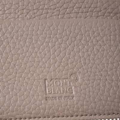 Montblanc Beige Leather Zip Around Wallet 276769 - 8