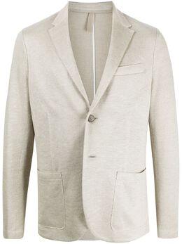 Harris Wharf London пиджак строгого кроя C8P22PED