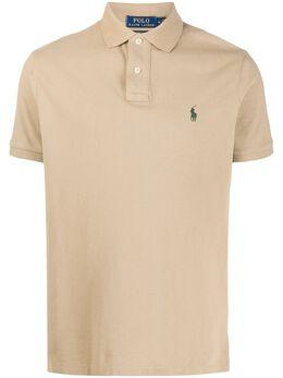 Polo Ralph Lauren рубашка-поло с вышитым логотипом 710680784150
