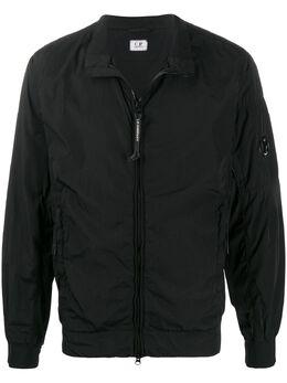 C.P. Company легкая куртка с металлическим логотипом 08CMOW315A005148G