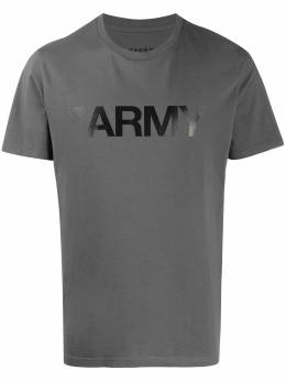 Yves Salomon Homme футболка Army с принтом 20EHH02969H20W