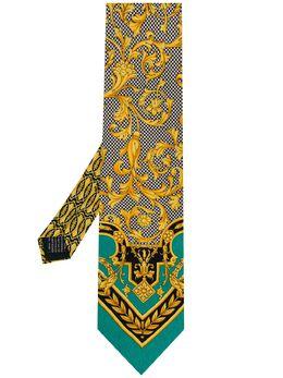 Versace Pre-Owned галстук 1990-х годов с принтом VRSA180