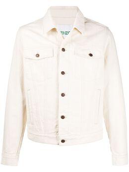Kenzo джинсовая куртка с вышивкой Mermaid FA55BL5092EE