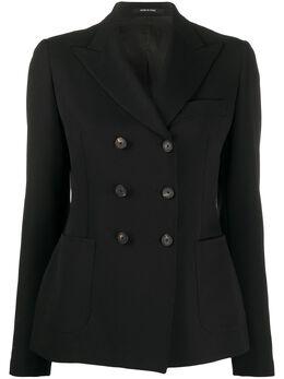 Tagliatore приталенный двубортный пиджак JANISE1GK97177