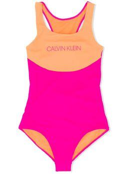 Calvin Klein Kids купальник с логотипом G80G800303TZ7