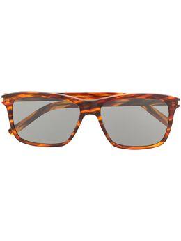 Saint Laurent Eyewear солнцезащитные очки в прямоугольной оправе 610909Y9901