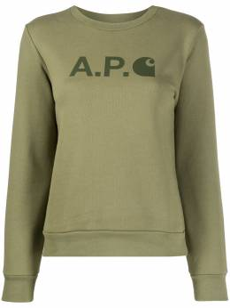 A.P.C. толстовка с логотипом COEGOF27597
