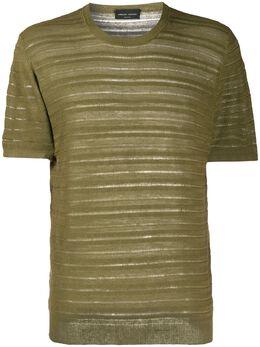 Roberto Collina футболка тонкой вязки RC43021